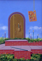 Quadro di  Franco Lastraioli - Giadino d'artista huile tableau