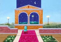 Работы  Franco Lastraioli - Nel giardino dei sogni oil стол