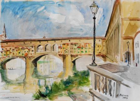 Rodolfo Marma - Ponte Vecchio (Firenze)