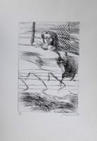 Quadro di  M. Ceccherini - Figura lithographie papier
