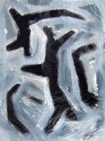 Quadro di Franco Lastraioli - Astratto mista carta