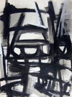 Работы  Franco Lastraioli - Astratto mixed бумага