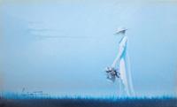 Quadro di  Alberto Fantuz - Figure Óleos cartÓn tela