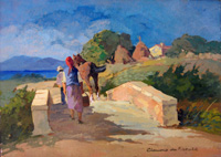 Work of Claudio da Firenze  Ponte in campagna