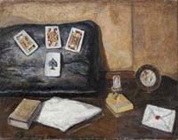 Quadro di  Guido Borgianni - Carte Óleos tela