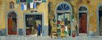 Quadro di  Rodolfo Marma - Muro di Oltrarno Óleos tela