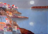 Quadro di  Lido Bettarini - Costiera Óleos tela