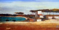 Quadro di  Salvatore Magazzini - Baratti huile papier sur tableau