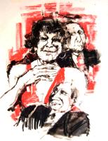 Quadro di  Remo Squillantini - Figure mixta -