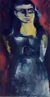 Quadro di  Fernando Farulli - Donna Óleos tela