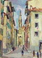 Quadro di  Rodolfo Marma - Borgo Allegri Óleos tela
