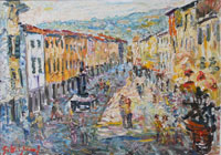 Quadro di  Guido Borgianni - Stia Óleos tela