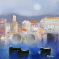 Quadro di  Lido Bettarini - Marina Óleos tela