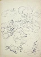 Quadro di  Claude Falbriard - Composizione pluma papel