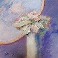 Quadro di  Umberto Bianchini - I fiori mixta tableros duros