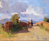 Work of Angiolo Volpe  Maremma Alberese