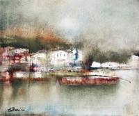 Quadro di  Lido Bettarini - Marina Grande - Capri huile toile