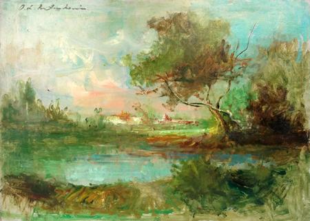 Osman Lorenzo De Scolari - Paesaggio