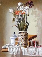 Quadro di  Walter Falconi - Composizione Óleos tabla