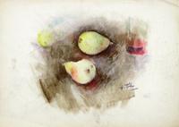 Работы  Gino Tili - Pere pastel бумага