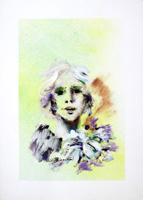 Quadro di  Umberto Bianchini - Composizione détrempe papier