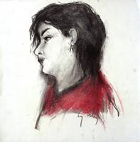 Работы  Gino Tili - Ritratto pastel бумага