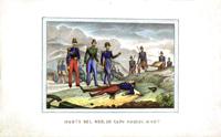 Работы   Antiquariato - Morte del generale in Capo Damre Mont graphics бумага
