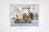Работы   Antiquariato - Emigrazione dei Mauri graphics бумага