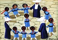 Quadro di  Rodolfo Marma - Girotondo Óleos cartÓn tela