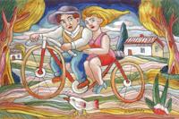 Fidanzatini in bici