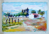 Quadro di  Luigi Pignataro - Paesaggio Óleos tela