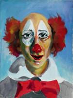 Quadro di  Luigi Pignataro - Clown Óleos tela