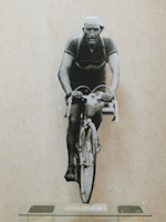 Work of Andrea Tirinnanzi  Gino Bartali al tour de France