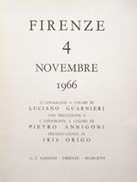 Quadro di  Luciano Guarnieri - Firenze 4 Novembre 1966. Cartella con 13 litografie sull'alluvione di Firenze litografía papel