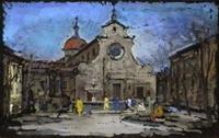 Работы  Gino Tili - Santo Spirito varnish картон