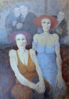 Quadro di  Remo Squillantini - Serata di gala Óleos tela