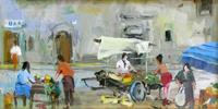 Work of Gino Tili  Mercato