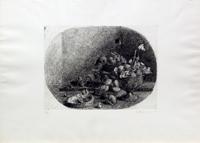 Quadro di  Renato Alessandrini - Composizione incisiÓn papel