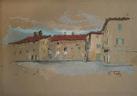 Work of Gino Tili  Paesaggio