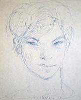 Quadro di  Silvio Loffredo - Ragazzo stylo papier