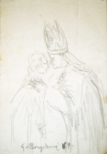 Guido Borgianni - Papa con giovine