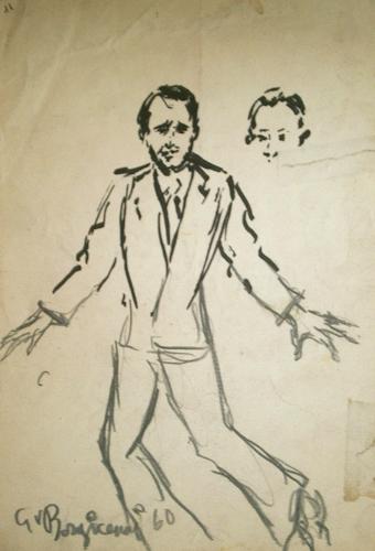 Guido Borgianni - Uomo con cravatta