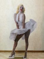 Quadro di  Andrea Tirinnanzi - Marilyn Monroe sculpture digital tableau