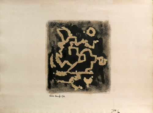 Quadro di alvaro baragli - astratto in nero. pittori moderni. galleria