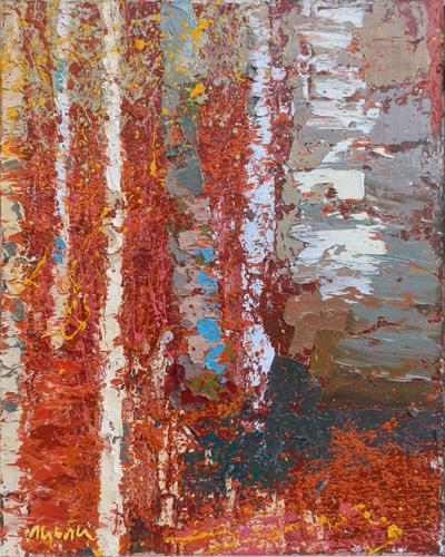 Quadro di bardhyl alibali - astratto. pittori moderni. galleria d'arte