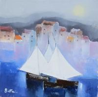 Work of Lido Bettarini  Vele e case