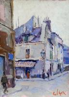 Quadro di Gino Paolo Gori  Parigi - Montmartre