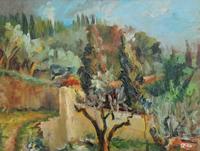 Gino Tili - Paesaggio