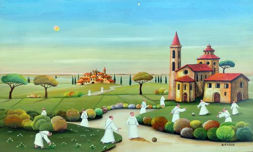 Il mondo di Mary Antony: L\'arte naif di Zenone (Emilio Giunchi)