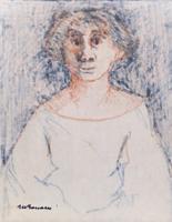 Quadro di Marcello Boccacci  Ritratto di donna